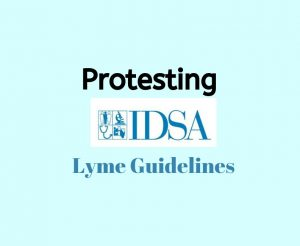 protesting IDSA guidelines