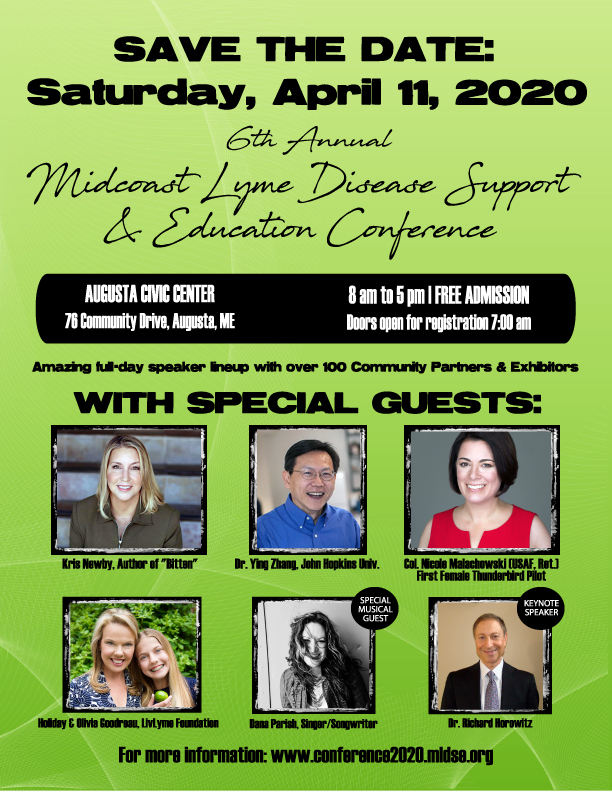 Lyme conf, Augusta Maine 2020