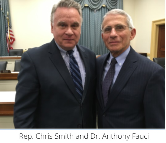 Rep. Chris Smith & Dr. Anthony Fauci