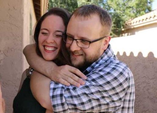 Rachel and Bryan