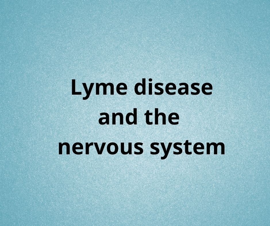 LYME SCI: Don't medically abandon people with neurological Lyme