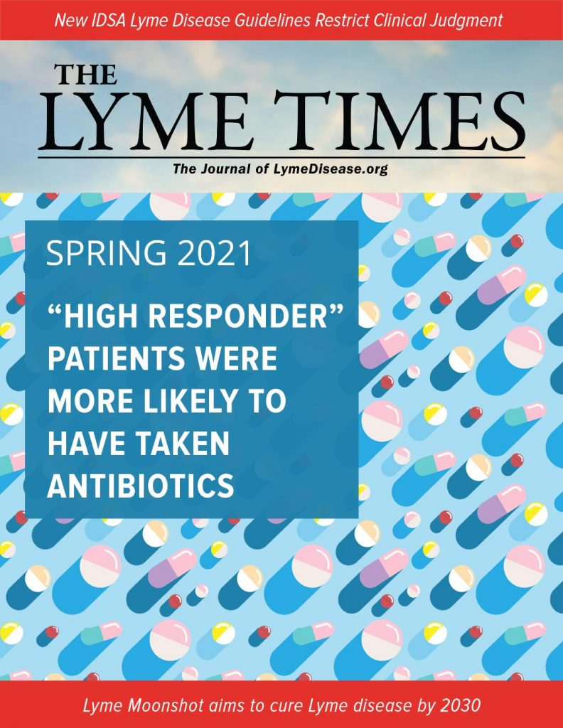 Lyme Times cover 2021